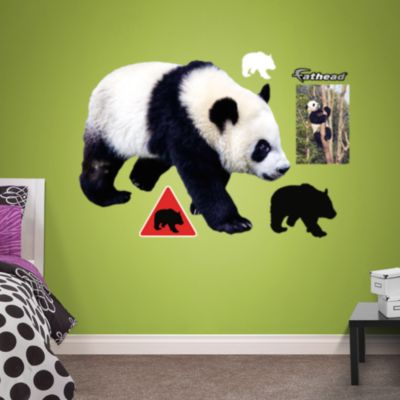 Panda Fathead Wall Decal